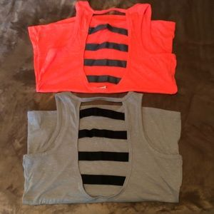 Victoria's Secret Sport Caged-Back Tank Tops